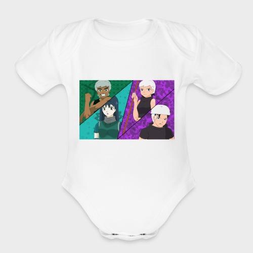 moha_team - Organic Short Sleeve Baby Bodysuit