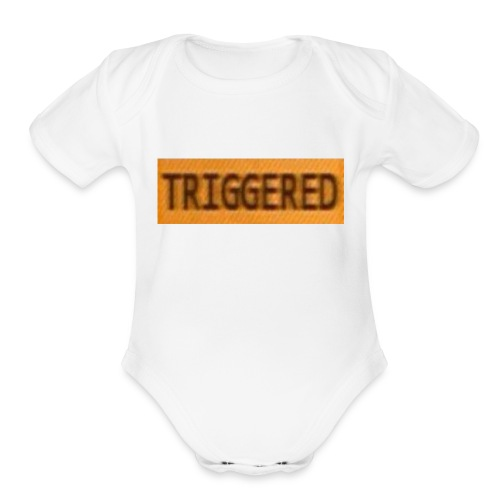 TRIGGERD - Organic Short Sleeve Baby Bodysuit