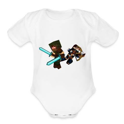 The Bandits - Organic Short Sleeve Baby Bodysuit