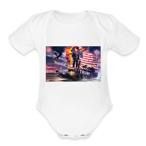President Trump - Organic Short Sleeve Baby Bodysuit