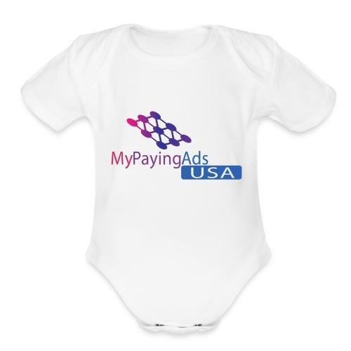MPA_USA - Organic Short Sleeve Baby Bodysuit