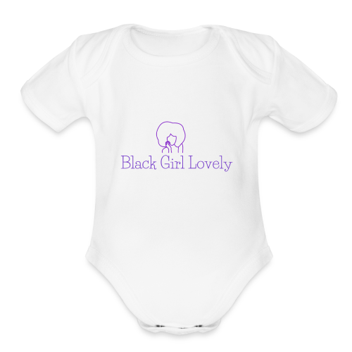 Michelle - Organic Short Sleeve Baby Bodysuit