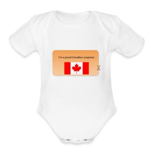 Canadian Couponer - Organic Short Sleeve Baby Bodysuit