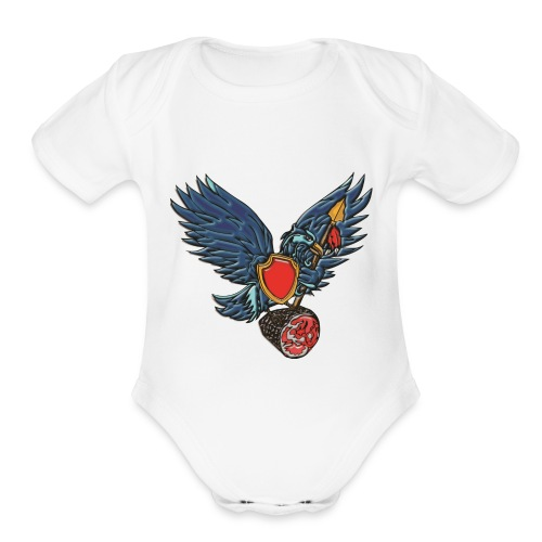 Tweeterham Official LOGO - Organic Short Sleeve Baby Bodysuit
