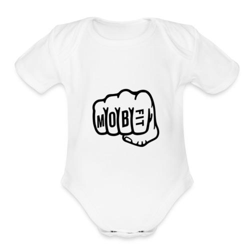 MOB FIT Fistbump - Organic Short Sleeve Baby Bodysuit
