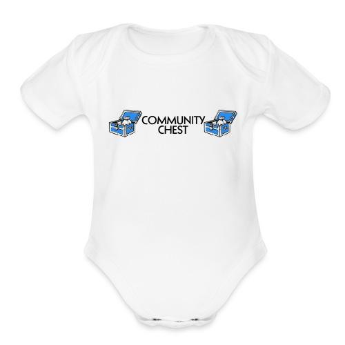 Community Chest - Organic Short Sleeve Baby Bodysuit
