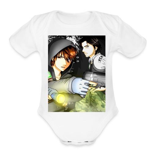 P I E Poster - Organic Short Sleeve Baby Bodysuit