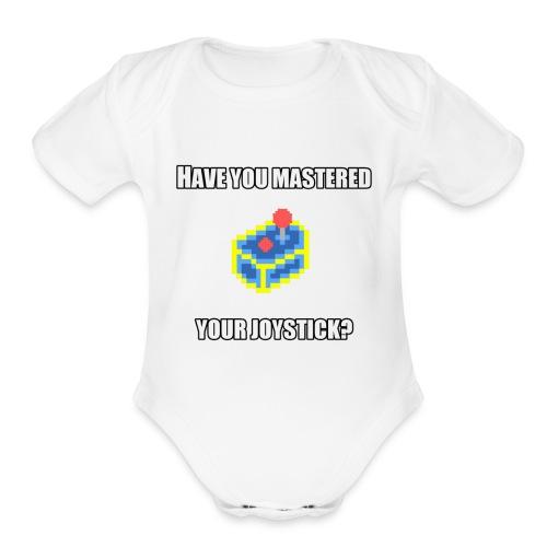 MasteredYourJoystick - Organic Short Sleeve Baby Bodysuit