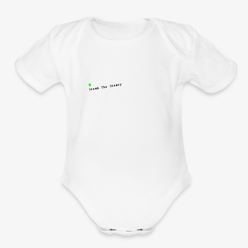 Break The Binary Alien - Organic Short Sleeve Baby Bodysuit
