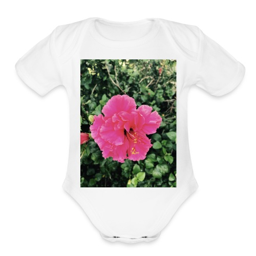 Girls - Organic Short Sleeve Baby Bodysuit