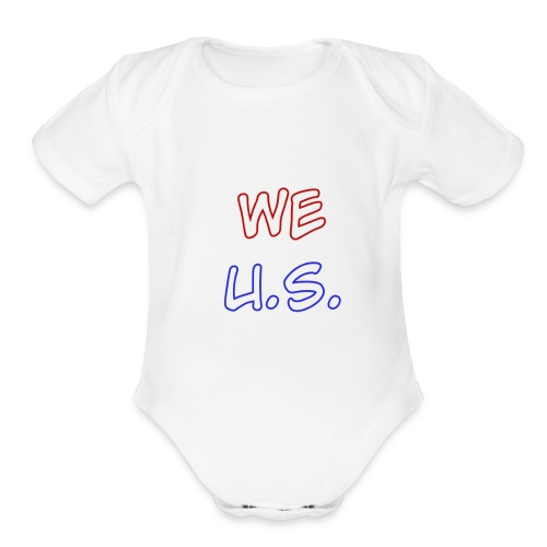 WE U.S. - Organic Short Sleeve Baby Bodysuit