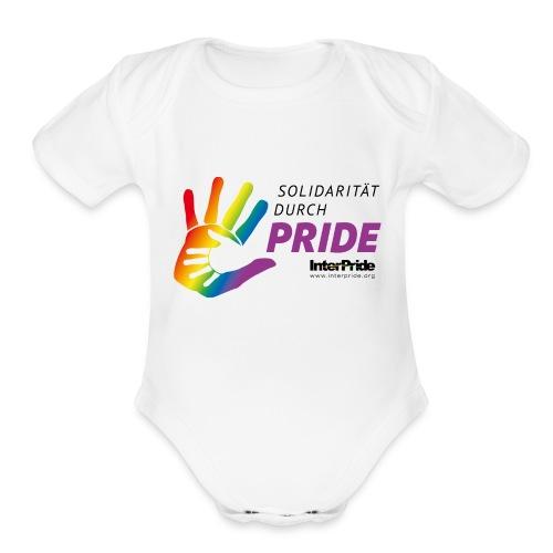 IP_theme logo_2016_DE_pos - Organic Short Sleeve Baby Bodysuit