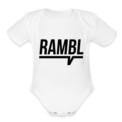 RAMBL - Organic Short Sleeve Baby Bodysuit