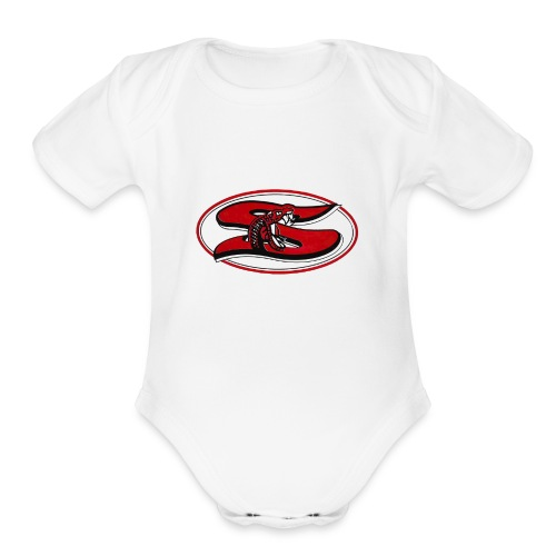 Sharyland-High-School-logo - Organic Short Sleeve Baby Bodysuit