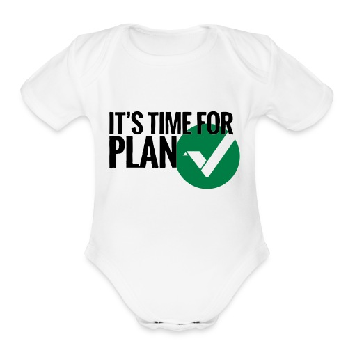 Time for Plan V(ertcoin) - Organic Short Sleeve Baby Bodysuit