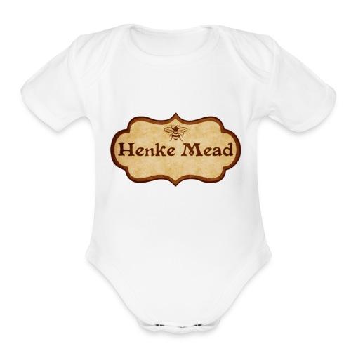 Henke Mead - Organic Short Sleeve Baby Bodysuit