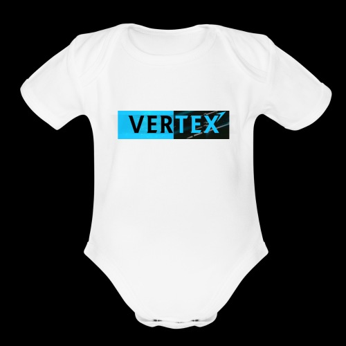 Vertex Window Box Style - Organic Short Sleeve Baby Bodysuit