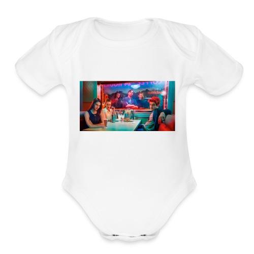 riverdale - Organic Short Sleeve Baby Bodysuit
