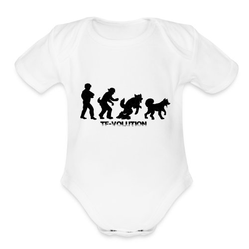 TF-Volution - Organic Short Sleeve Baby Bodysuit