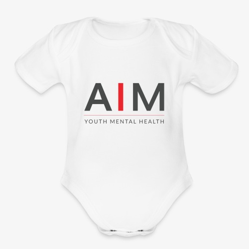 AIM - Organic Short Sleeve Baby Bodysuit