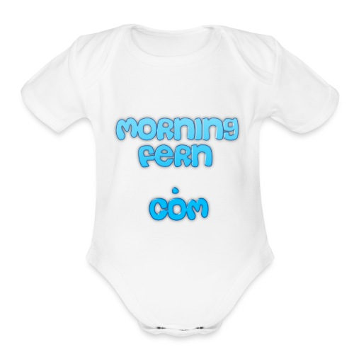 Morning Fern - Organic Short Sleeve Baby Bodysuit