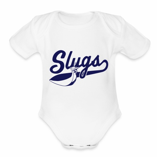 SLUGS - Organic Short Sleeve Baby Bodysuit