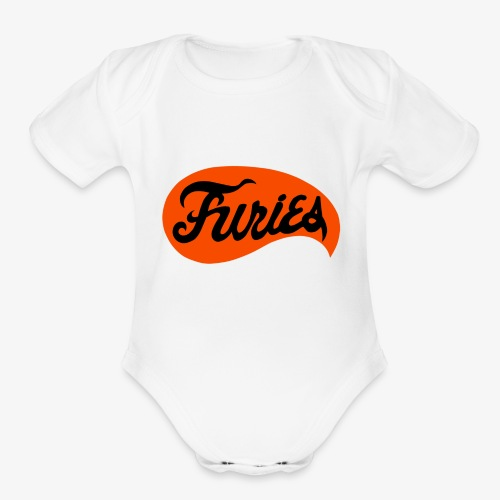 furieslogo copy - Organic Short Sleeve Baby Bodysuit