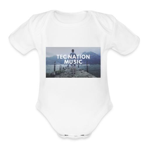 T SHIRTS png - Organic Short Sleeve Baby Bodysuit