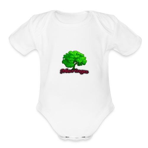 Moringa Logo Samsung S6 Case - Organic Short Sleeve Baby Bodysuit
