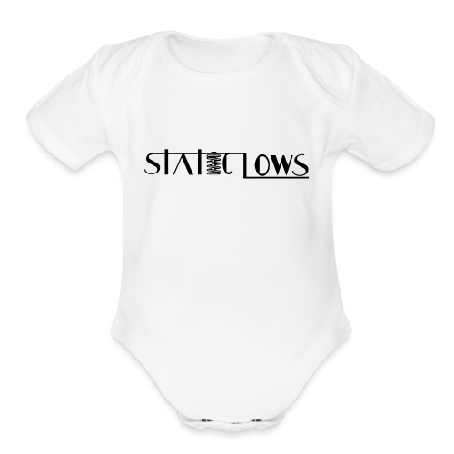 Staticlows - Organic Short Sleeve Baby Bodysuit