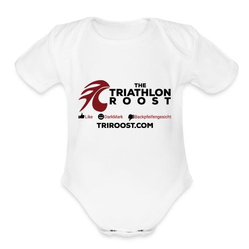 TriRoost - L/D/B - Organic Short Sleeve Baby Bodysuit
