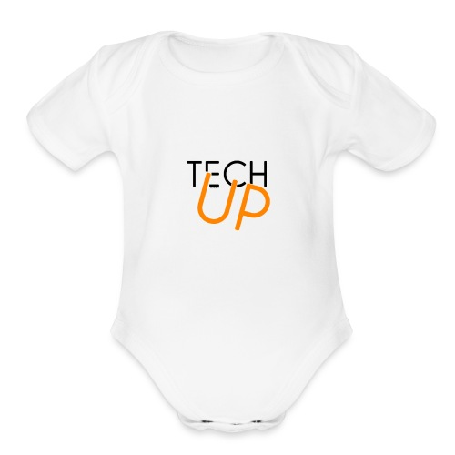 TechUp! - Organic Short Sleeve Baby Bodysuit
