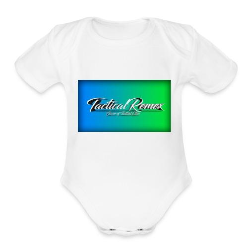 My second shirt - Organic Short Sleeve Baby Bodysuit