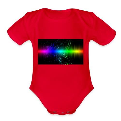 Keep It Real - Organic Short Sleeve Baby Bodysuit