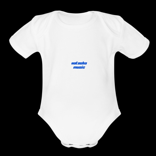 Music - Organic Short Sleeve Baby Bodysuit