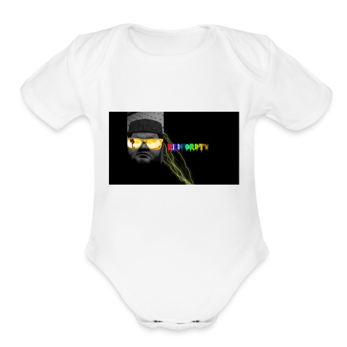 redfordtv banner - Organic Short Sleeve Baby Bodysuit