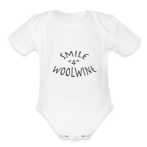 Woolwine - Organic Short Sleeve Baby Bodysuit