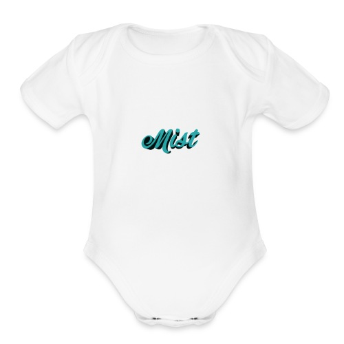 SPECIAL BLACK LIMITED EDITION - Organic Short Sleeve Baby Bodysuit
