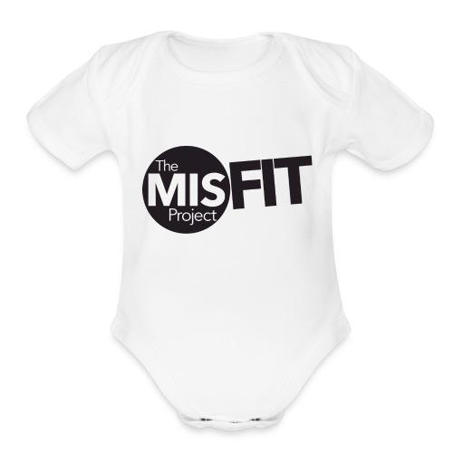 TMP_Logo - Organic Short Sleeve Baby Bodysuit