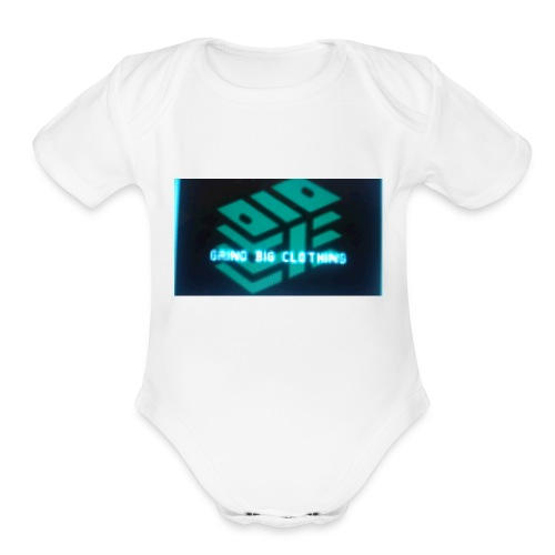 Grind Big Clothing - Organic Short Sleeve Baby Bodysuit