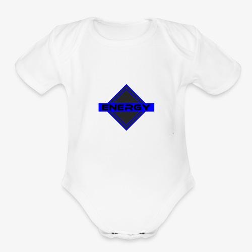 Clan Logo - Organic Short Sleeve Baby Bodysuit