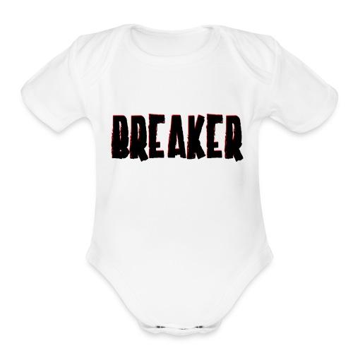 BreakLOGOupdate - Organic Short Sleeve Baby Bodysuit