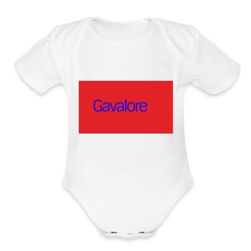 mychannelart - Organic Short Sleeve Baby Bodysuit