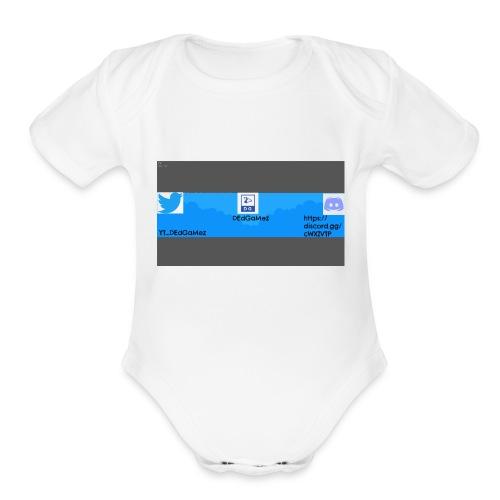 Channel Banner - Organic Short Sleeve Baby Bodysuit
