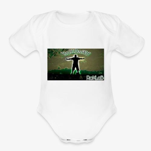 RoKGaWd - Organic Short Sleeve Baby Bodysuit