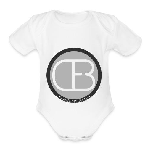 D'ARTAGNAN BRAND - Organic Short Sleeve Baby Bodysuit