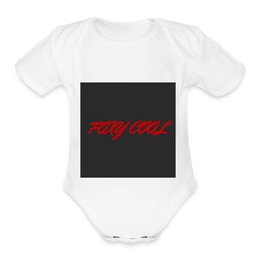 The First - Organic Short Sleeve Baby Bodysuit