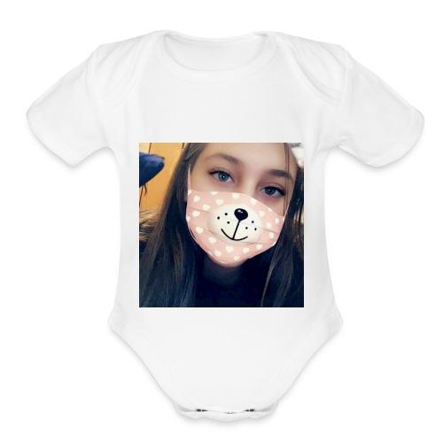 071F5ED5 1BE6 4F2B A346 20A894628BD3 - Organic Short Sleeve Baby Bodysuit