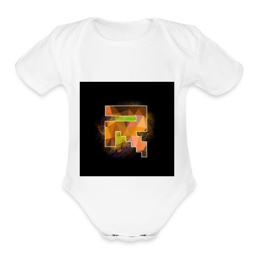 My icon on YT - Organic Short Sleeve Baby Bodysuit