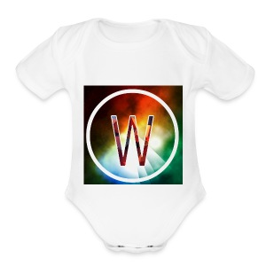 youtube logo - Short Sleeve Baby Bodysuit